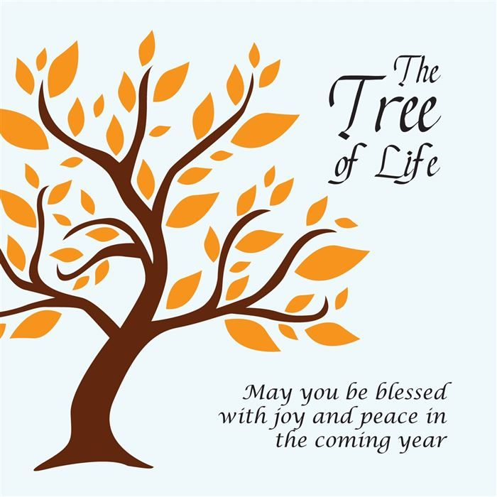 37 best feasts yom kippur images on pinterest atonement israel tree of life new year greeting card by ananya cards hashanah m4hsunfo