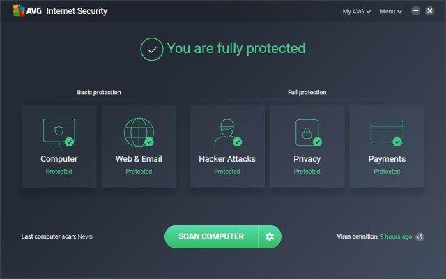 avg internet security 2018 serial key free