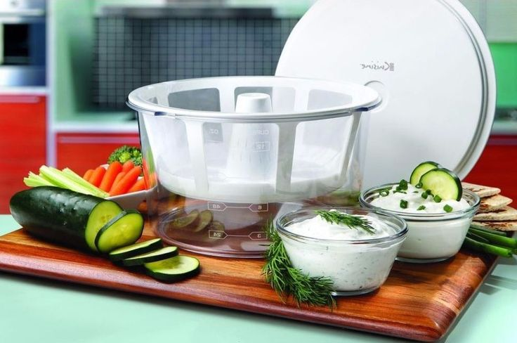 2 Qt. Yogurt Maker Cool-Touch Exterior In White Strainer Kit Specialty Appliance #yogurtmaker