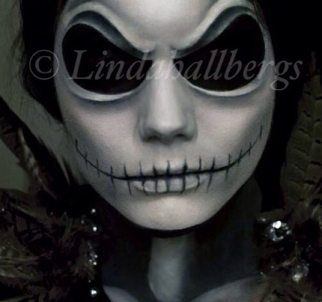 Nightmare Before Christmas Jack Halloween Makeup Ideas