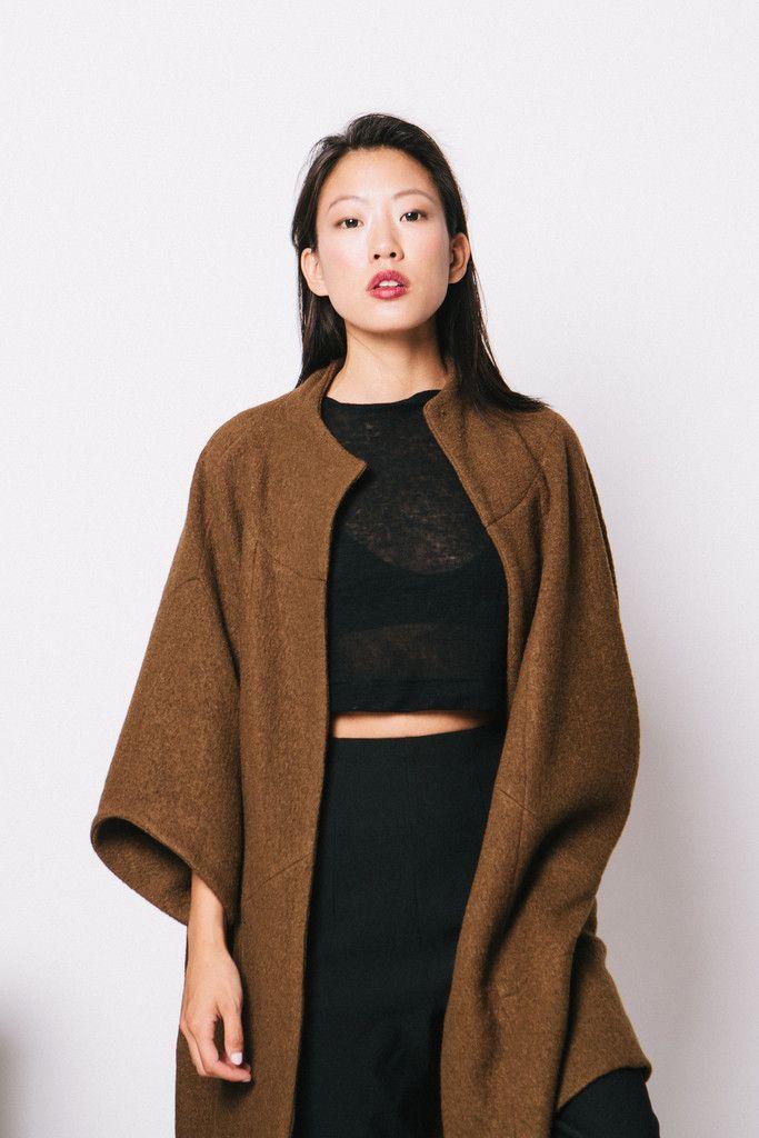 Cocoon Coat / Elizabeth Suzann