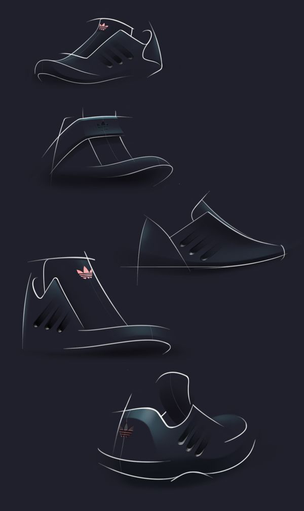 Adidas Dark Concept on Behance #id #industrial #design #product #sketch