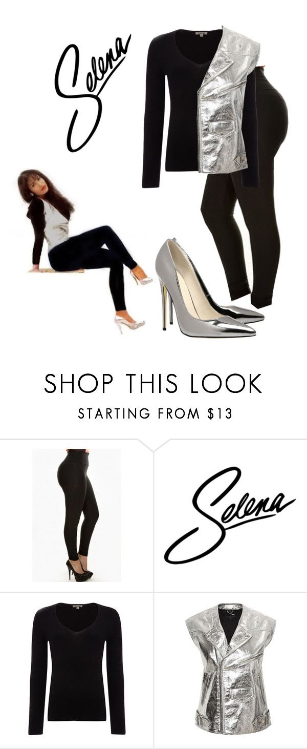 """""""Selena Quintanilla-Pérez"""" by britt1990 ❤ liked on Polyvore featuring Jigsaw and McQ by Alexander McQueen"""
