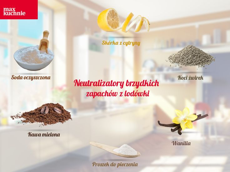 Lodówka to miejsce, o którego czystość szczególnie dbamy, ponieważ przechowujemy w niej żywność ⚠. Niestety, zapomniane resztki jedzenia mogą spowodować nieprzyjemny zapach, który będzie przenosił się na inne produkty :(. Najlepiej pozbyć się go domowymi sposobami. Jakimi? Na to pytanie odpowie nasza infografika!