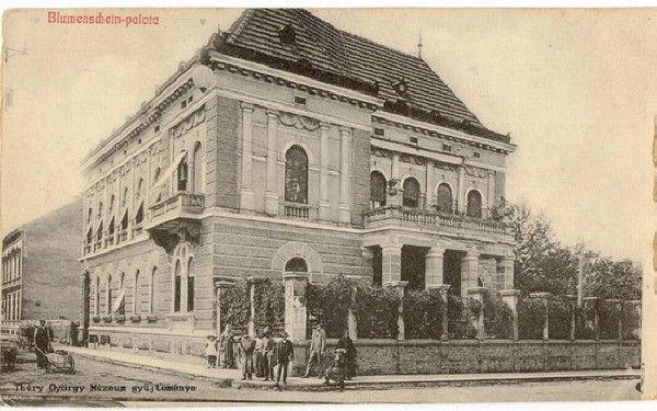 Nagykanizsa régi belvárosi kép