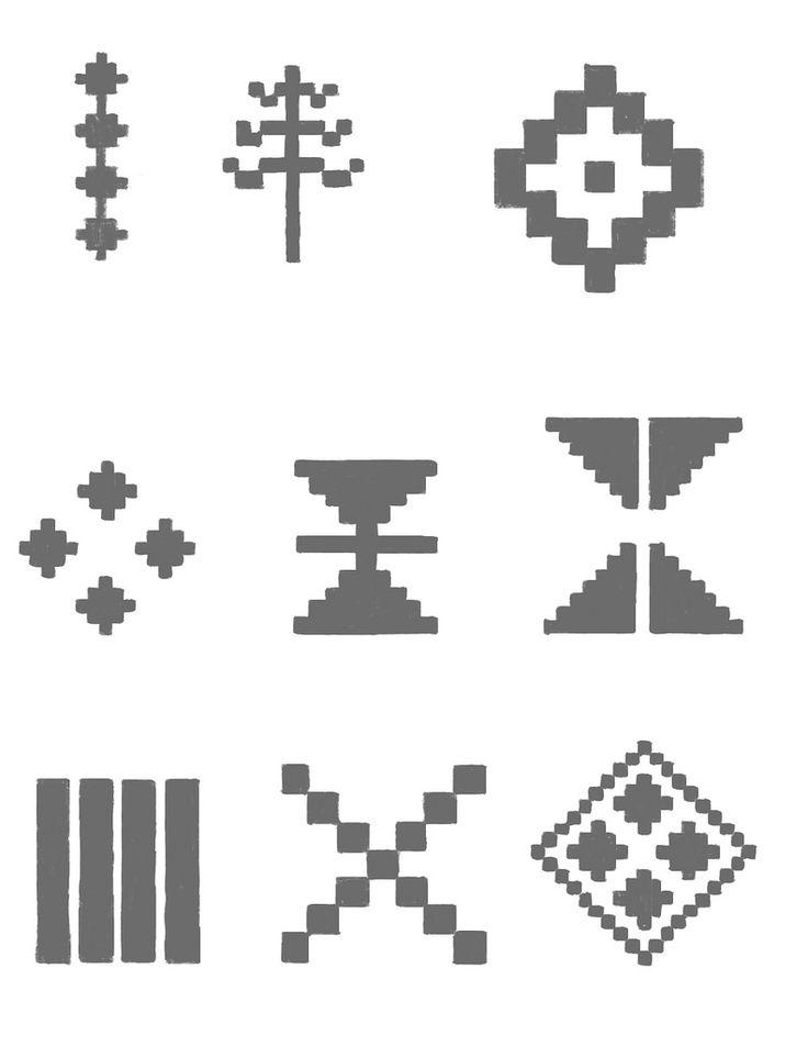 Resultado de imagen para mapuche simbolos