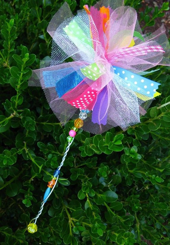 Fairy Princess Ribbon Wand