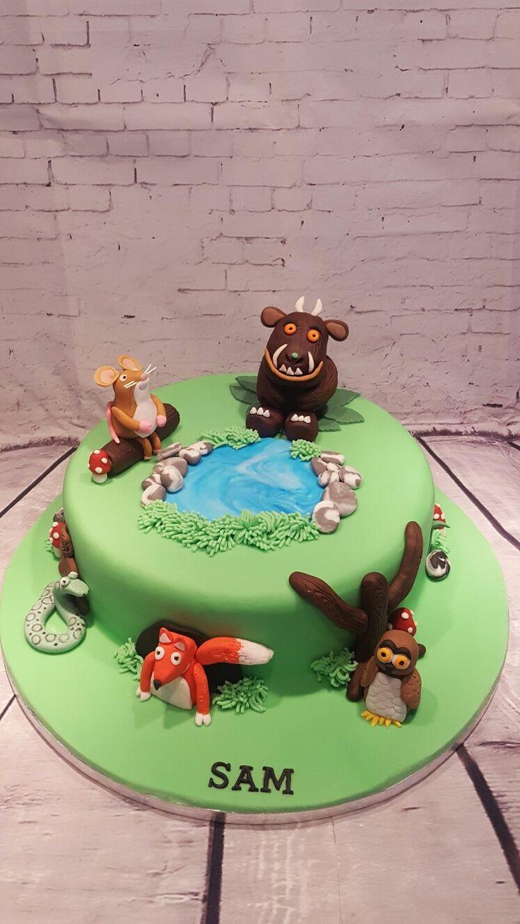 Gruffalo cake.