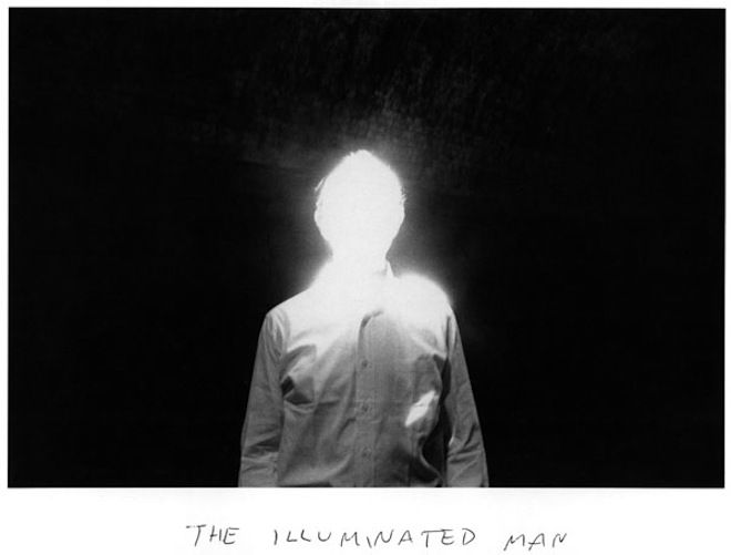 The Illuminated Man (1968) by Duane Michals...learned this technique in my photo class..so cool.