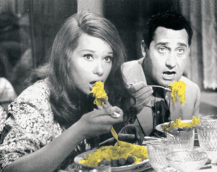 Lea Massari e Alberto Sordi, Una vita difficile, film di Dino Risi - 1961