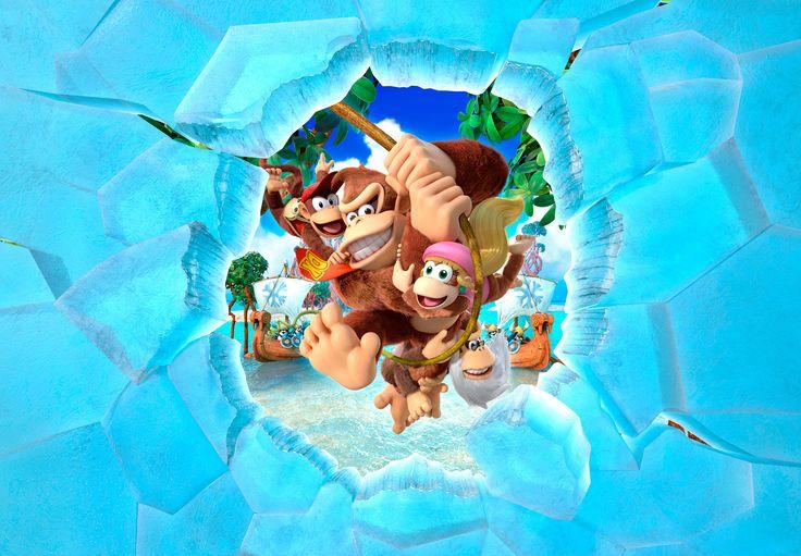 Donkey Kong Country Tropical Freeze : la Wii U prend froid - http://www.kanpai.fr/jeux-video/donkey-kong-country-tropical-freeze-test-wii-u.html
