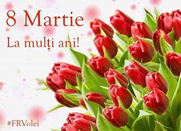 La multi ani doamnelor si domnisoarelor din volei! #8martie #frvolei #romania #volei #volleyball #romaniangirls