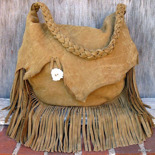 handmade leather bag. Etsy.