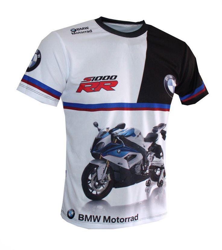 BMW Motorrad S1000RR - All Over Sublimation Print T-shirt  #AMFANWAR #GraphicTee