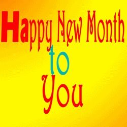You can use this gif for new month wishes