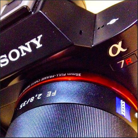 Sony A7r testissäni