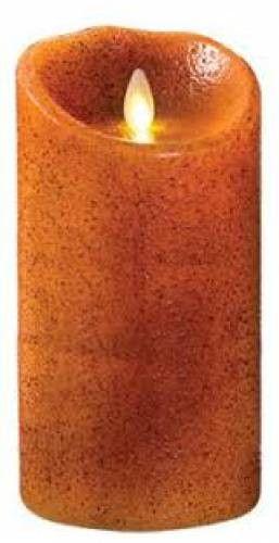 """Luminara® Flameless Candle - 3.5"""" Diameter Yam Pillar - Unscented"""