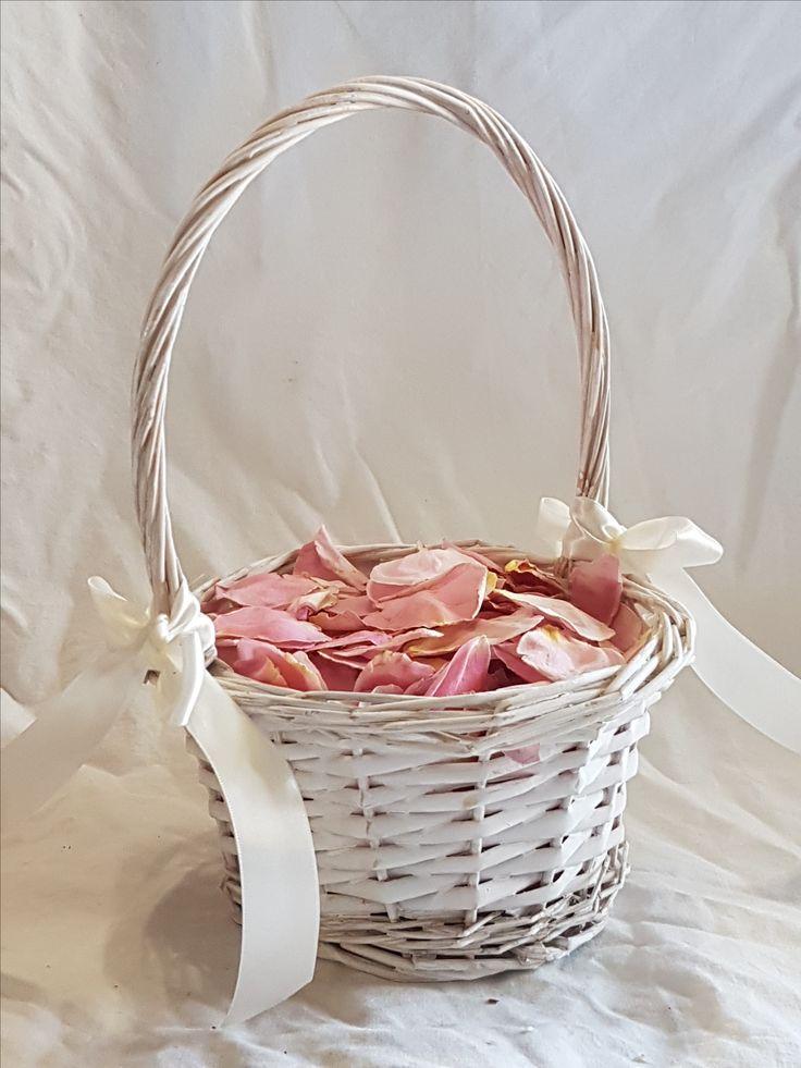 Flower Girl Baskets On Pinterest : Best flower girl basket ideas on