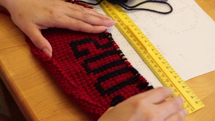 Tunisian Crochet Graph Using Simple Stitch