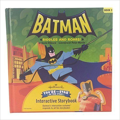Hallmark Interactive Storybook Batman Riddles and Roars! Book 2: Kevin Dilmore: 9781595309082: AmazonSmile: Books