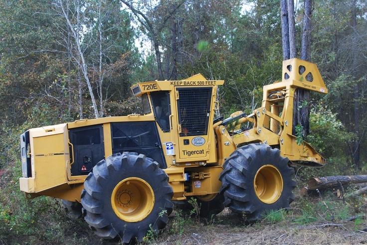 Tigercat 720E Feller Buncher | Tractors and Heavy ...