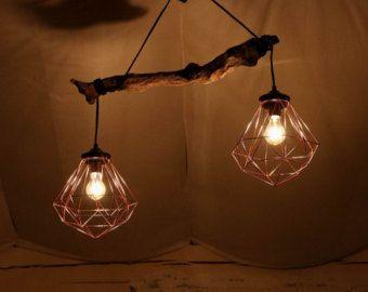 ENDVERKAUF Luxurise Lampe Treibholz