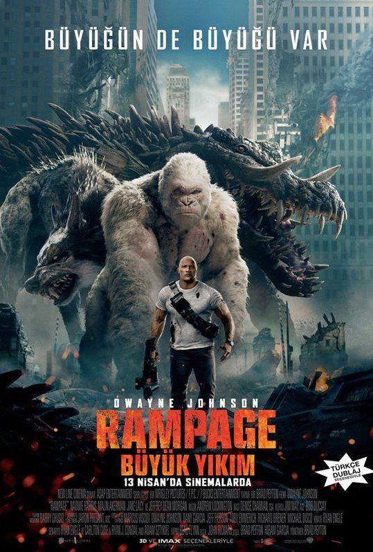Rampage 2018 Türkçe Dublaj Izle Izlenmesi Gereken Filmler 2019