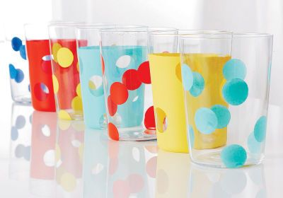 Mother's Day Polka Dot Tumblers