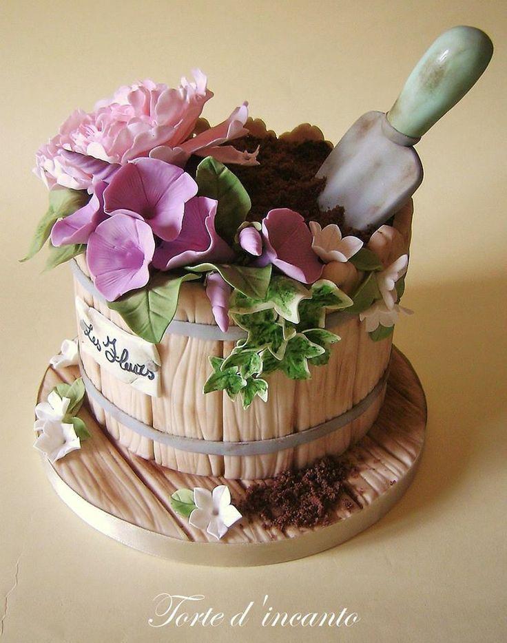 Risultati Immagini Per Torte D Incanto Tutorial Motivtorten Kuchen Gartenmotiv Blumenkuchen