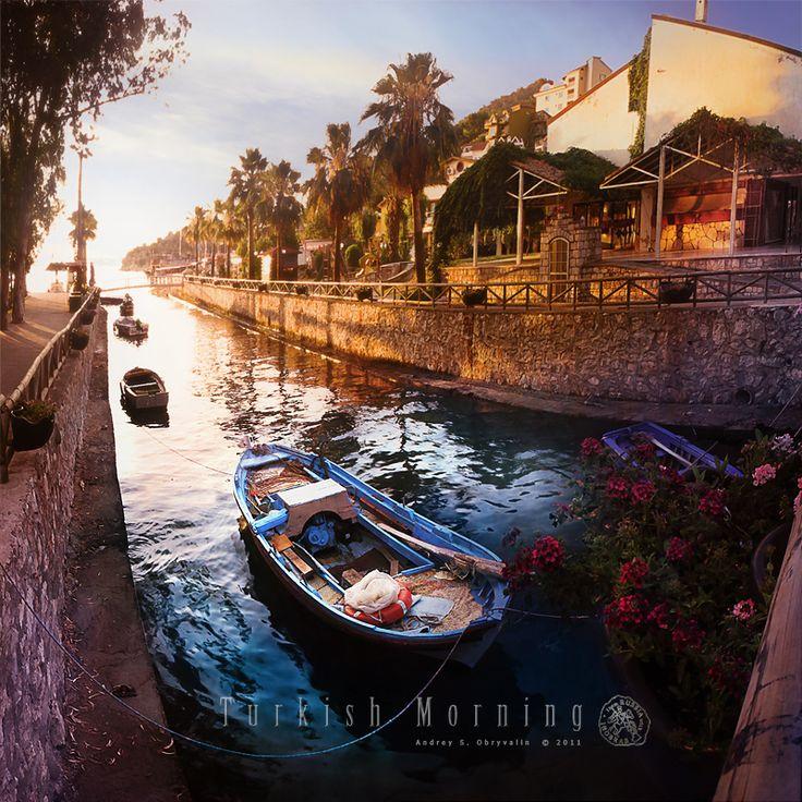 Turkish morning in Marmaris