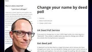 To change your driving licence is a simple process, and usually requires you to simply fill in the appropriate forms and to send them to the DVLA, along with your old driving licence and any other supporting documents http://deedpoll.ltd.uk/change-your-name-on-your-driving-licence/ or https://www.facebook.com/pages/Change-your-name-by-deed-poll/1617252885211036