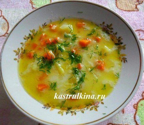 Нежнейший молочный суп с рисом в микроволновке, рецепт с пошаговыми фото.