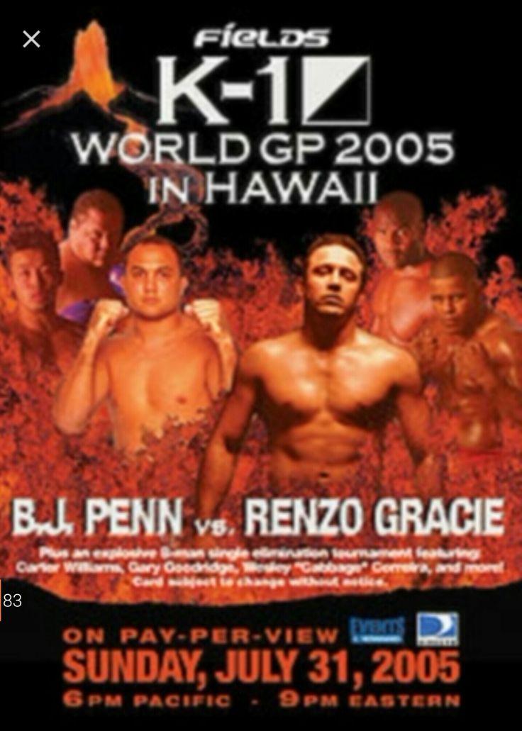 BJ Penn & Renzo Gracie K1 Kickboxing