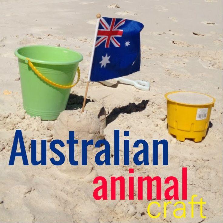 Australian animal kids craft