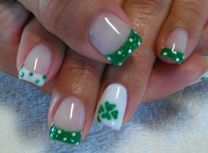 saint+patrick+day+nail+designs   St Patrick's Day Nails   nails designs