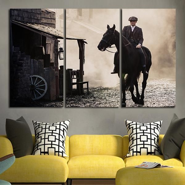 Thomas Shelby Poster Peaky Blinders Wall Print Colorful Poster Wall Art Thomas Shelby Print Wall Accessories Room Interior Thomas Shelby Gift