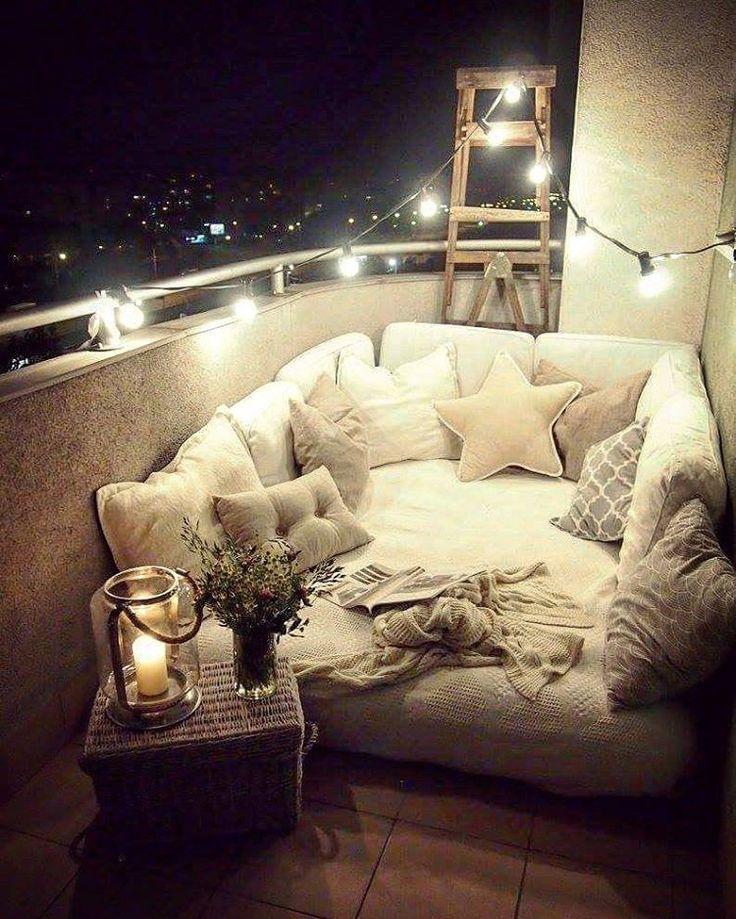 """2,205 Gostos, 58 Comentários - Marzena (@marzena.marideko) no Instagram: """"Gdy tworzyłam balkonowa przestrzeń w poprzednim mieszkaniu ,nie sadzilam nigdy ze tak sie spodoba,…"""""""