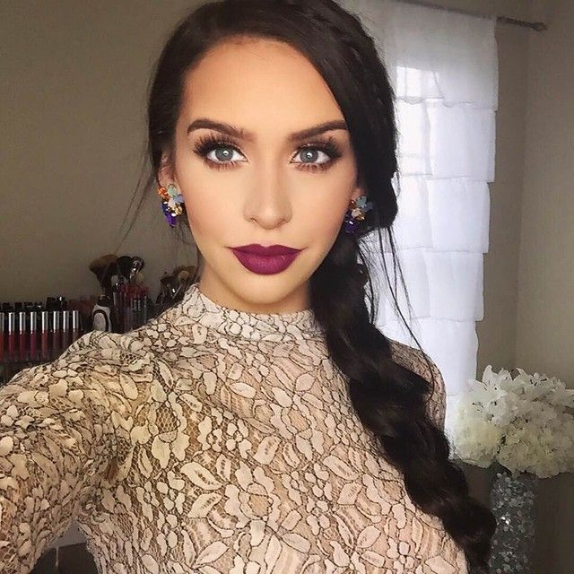 """Vintage #liquidlips with Mac Rebel worn by @carlibel #anastasiabeverlyhills"""