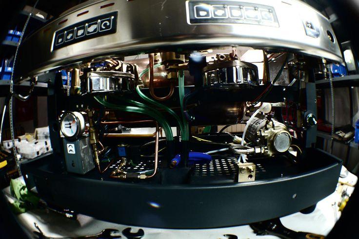 Dayo Hellas Service   Service μηχανών espresso - πωλήσεις   Reneka Cafina rebuild front side