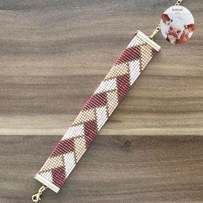 #danaaccessories #miyuki #miyukiaddict #miyukibeads #miyukibileklik #miyukibracelet #beadloom #bileklik #bracelet #handmade #handmadejewelry #elemeği #elyapımı #tasarım #balıksırtı #kahverengi #krem #gününkombini #gününtakısı #takısızgezmeyenler #aksesuar #takı #jewelry #çarşamba