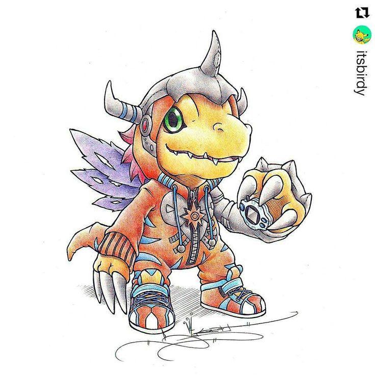 Agumon Digivolve to... Metalgreymon . . #metalgreymon #greymon #Digimon #crayola #agumon #digivolve #digievolution #Draw #Drawing #Art #Fanart #Artist #Illustration #Design #sketch #doodle #tattoo #Arthelp #Anime #Manga #Otaku #Gamer #Nerdy #Nerd #Comic #Geek #Geeky . . Geek drawings gallery.  Use #ArtForGeeks for a chance to be featured  Artist credit