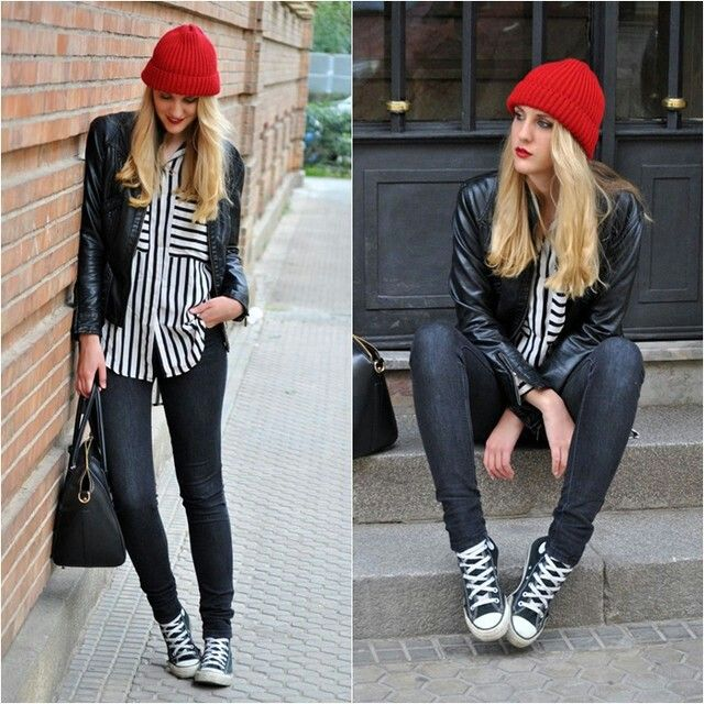 style with converse