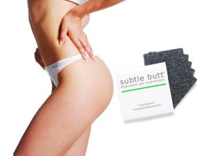 Subtle Butt -- Does your loved one have smelly gas?  Is the dog getting a lot of blame? Take the bad part out of the fart with Subtle Butt fart pads. We combined activated carbon, fabric, and adhesive to create the most effective fart pad on the market. Each pack of 5 Subtle Butt fart pads effectively filters the odor caused by flatulence. Simply stick one in the right place and you're ready for a chili cook-off or an all-you-can-eat buffet.