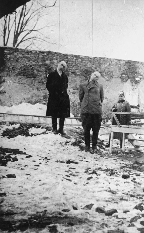 Two Jews are executed by hanging in Olkusz. | torture ...