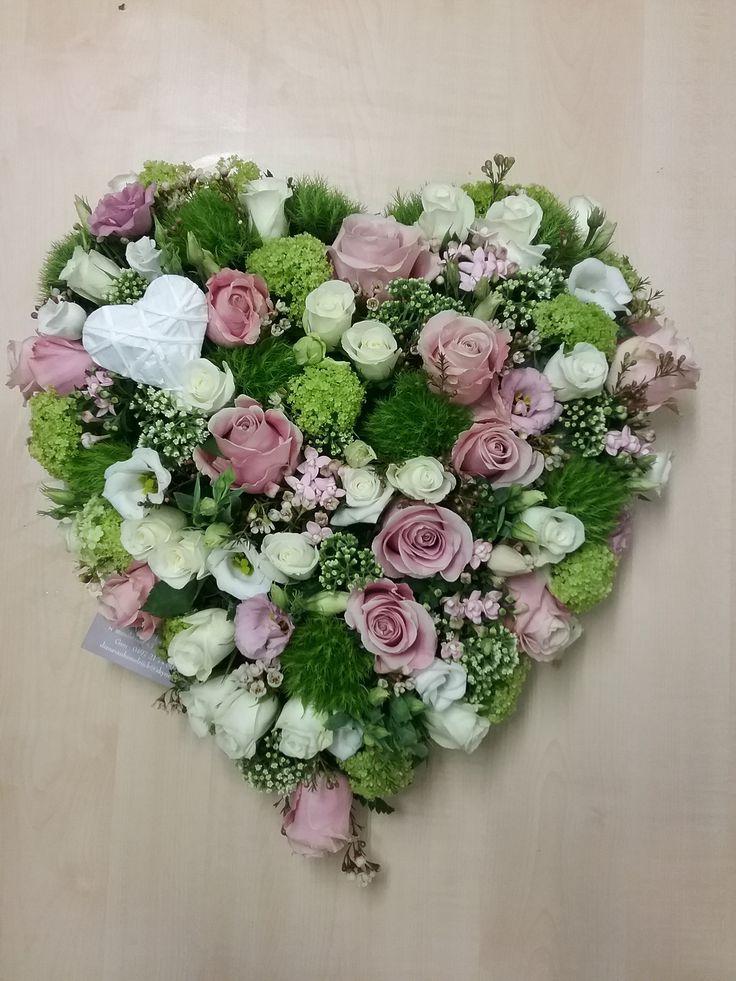 een hartje met zacht roze tinten  Van Hemelrijck Diana