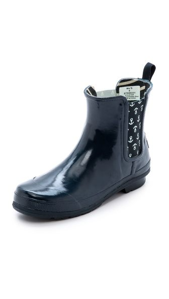 Sperry Top-Sider Starling Chelsea Rain Booties - i should also put these on my wishlist.