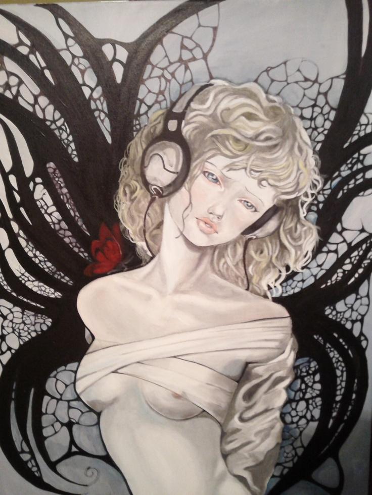 Acryl on canvas 50x70 cm