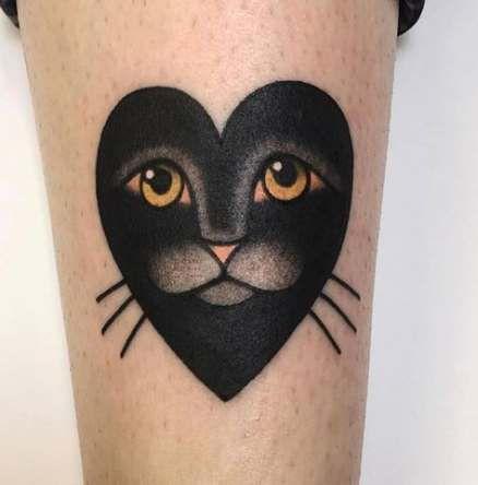 56 Ideen Tattoo Old School Cat schön für 2019   – Tattoos :)