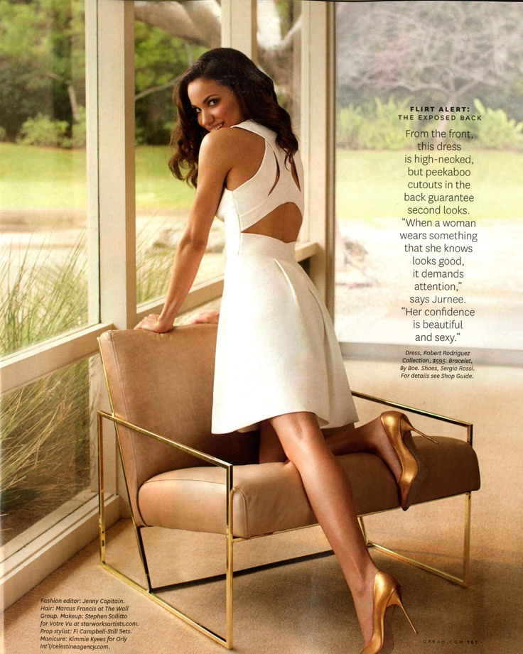 Jurnee Smollett-Bell in Spring 2013 via O, the Oprah Magazine