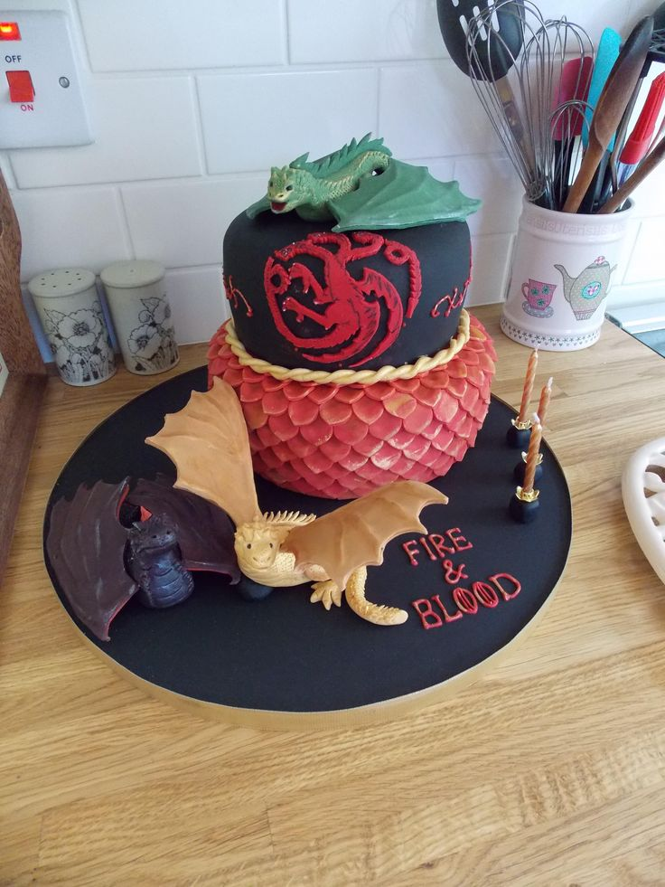 Game of Thrones cake - For all your cake decorating supplies, please visit craftcompany.co.uk